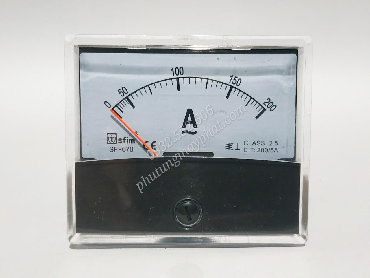 Đồng hồ hiển thị dòng SF-670