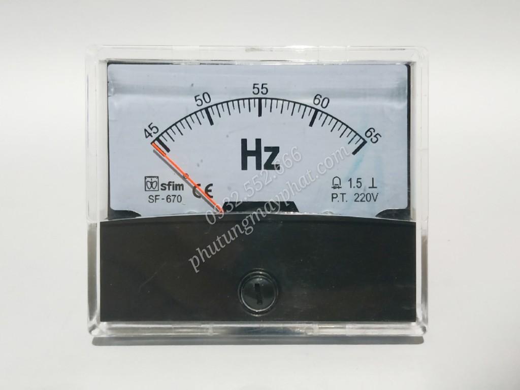 Đồng hồ hiển thị tần số SF-670