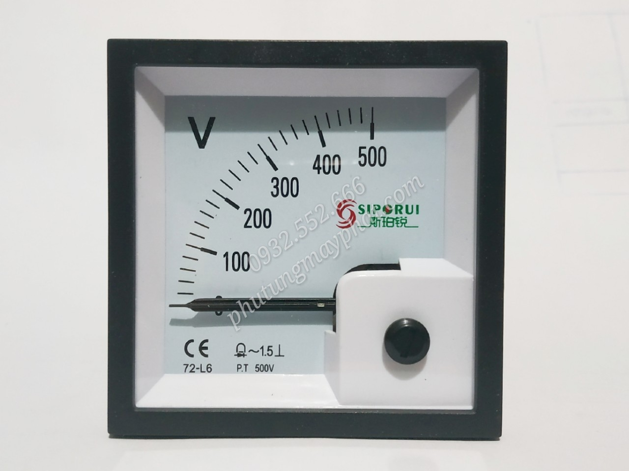 Đồng hồ hiển thị điện áp 72-L6