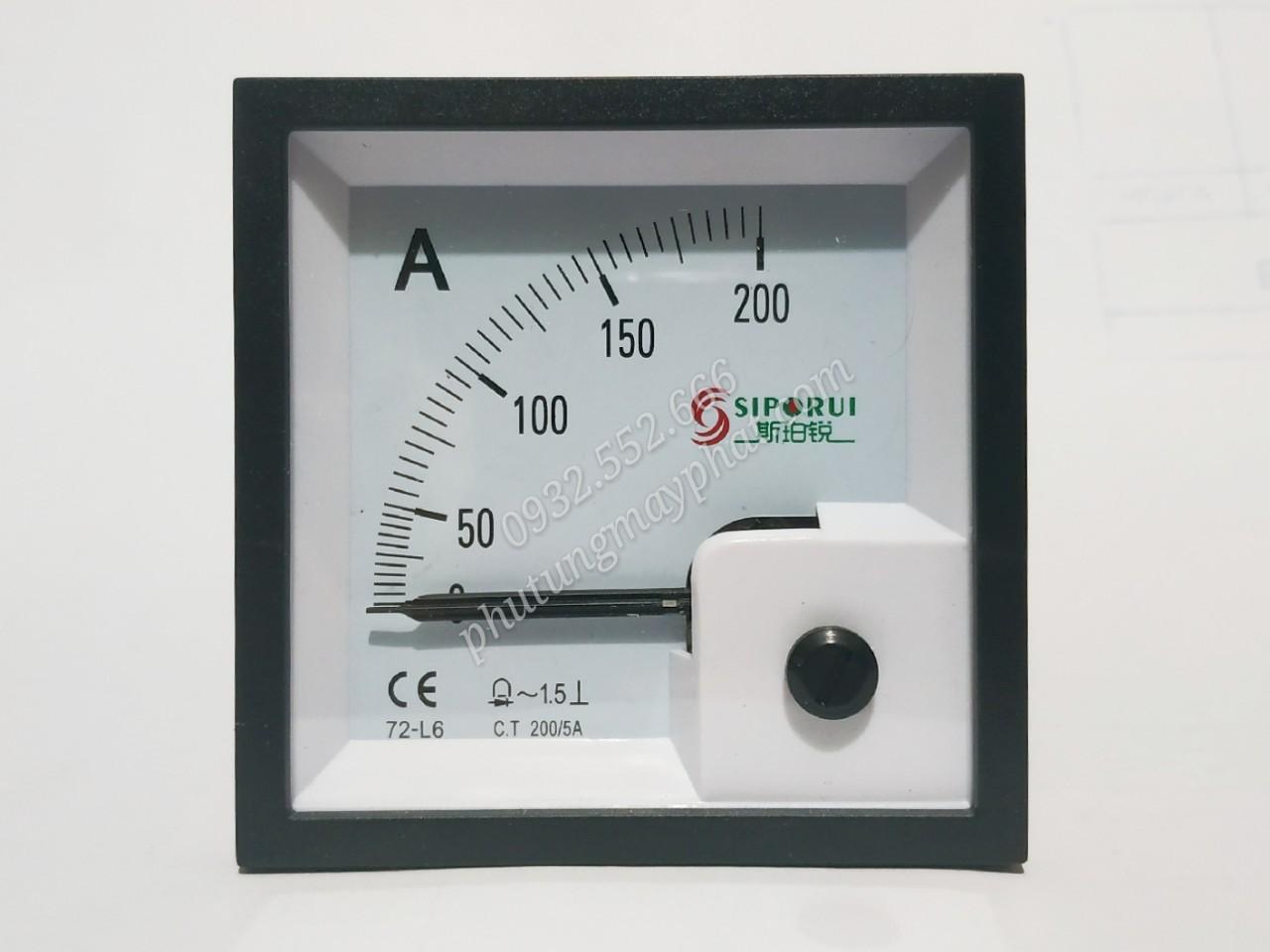 Đồng hồ hiển thị dòng 72-L6