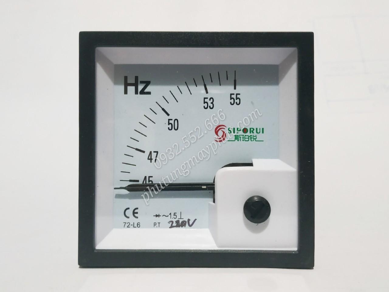 Đồng hồ hiển thị tần sô 72-L6