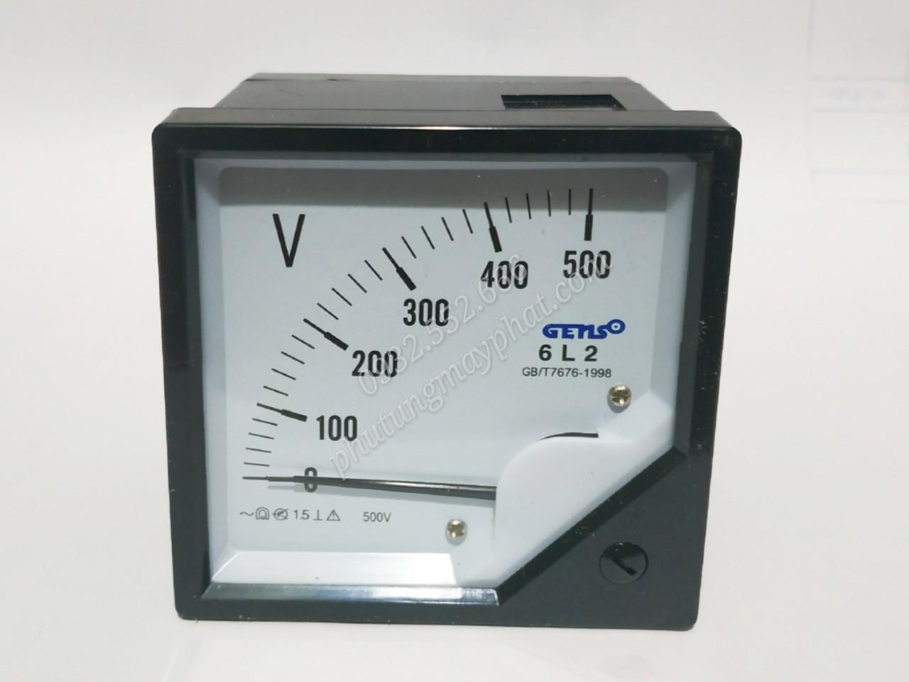Đồng hồ hiển thị điện áp 6L2 class=